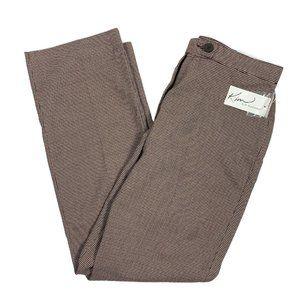 Kim Rogers 8P Pants Petite Straight Brown Black Ho